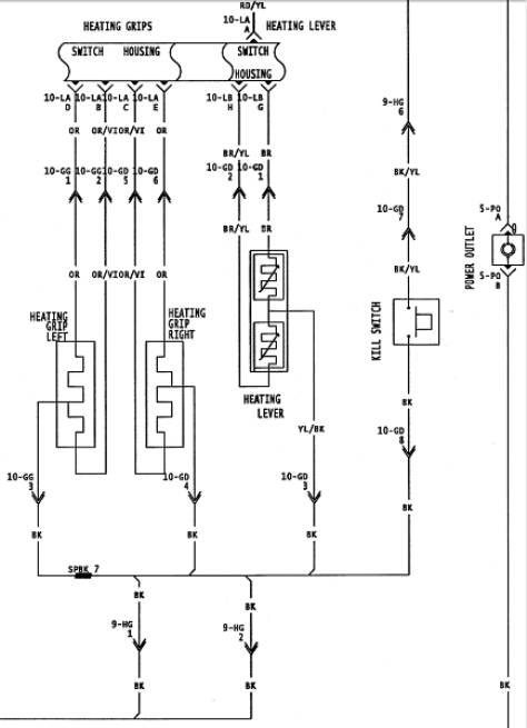 98 mxz wiring diagram 98 discover your wiring diagram collections 1998 ski doo wiring diagrams