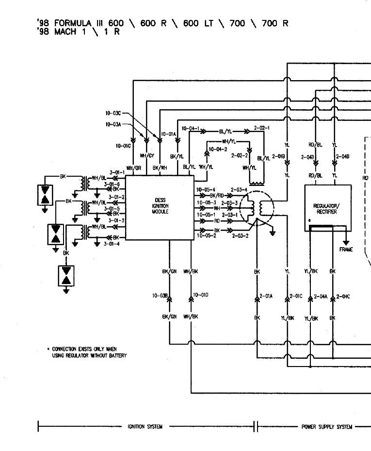 Wiring Diagram Formula 3 Snowmobile World, Ski Doo Wiring Diagrams