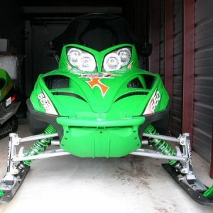 PowderBoys Green Turbo