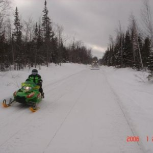 To make sled go you gotta push on that throttle!!